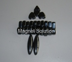 heart shape magnetic stone toy
