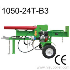 24T petrol log splitter