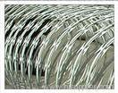 hot galvanized barbed wire fence