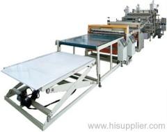 Board Extrusion Line