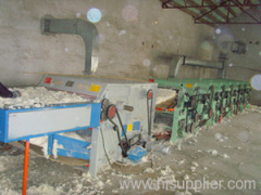 yarn waste recycle complete line