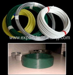 cut wire pvc coated wire