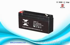 6V1.3AH VRLA UPS battery