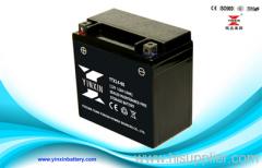 12V14AH sealed motorcycle battery