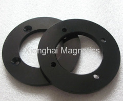 Aluminium Parts Black Color 7075-T651 , 6061-T651/T6.