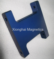 Aluminium Parts Blue Color 7075-T651 , 6061-T651/T6.