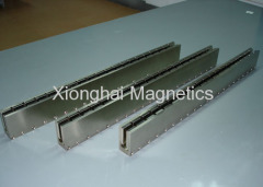 Linear Motor Magnetic Track Size:DX50-T600mm Magnetic Assemblies
