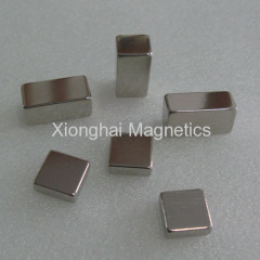 Neodymium Block Magnets Nickel plated Rare Earth N35-N52,M,H,SH,UH,EH,AH