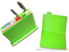 Foldable Index Cutting Boards Set with Knife Holder