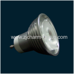 Dimmable LED Spotlight Gu10 3x1w
