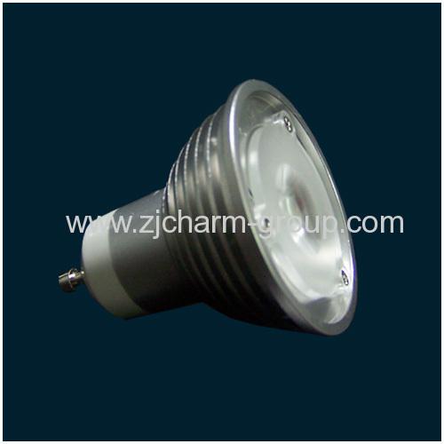 Dimmable LED Spotlight Gu10 3x1w