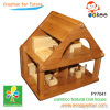 Bamboo doll house