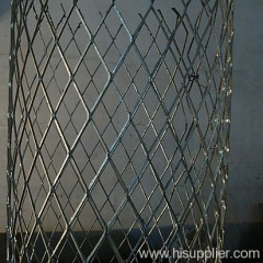 No flattened expanded metal mesh in filtrations