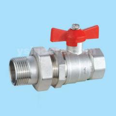 brass pipe union ball valve