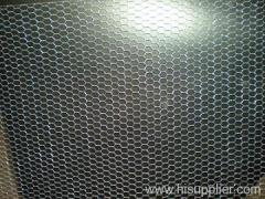 Hot dipped hexagonal wire meshes