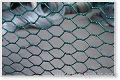 Heavy pvc hexagonal wire meshes