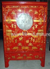 Chinese painting wardrobes