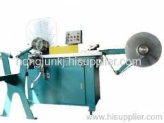 Aluminium flexible duct forming machine