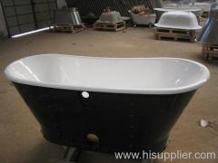 skirt cast iron bathtub