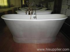 new cast iron bathtub