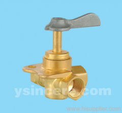 Brass Angle Valve Forged Body Aluminium Handle