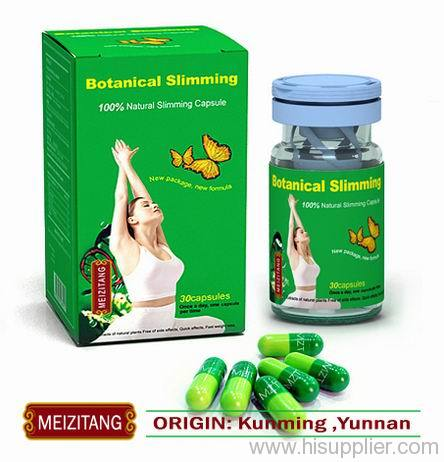 Original meizitang botanical slimming capsule manufacturer from china h s kunming huining New slimming world products