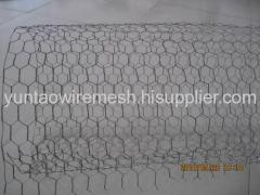 Hot dipped galvanized hexagonal wire meshes