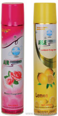 Aerosol household air freshner