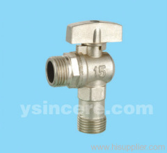 Brass Angle Valve Forged Body Zinc Alloy Handle