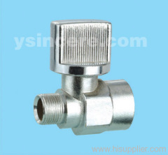 Brass Angle Valve Zinc Alloy Handle