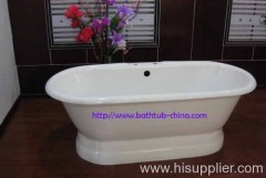 cast iron pedestal tubs