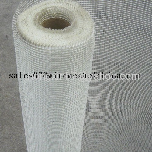 Alkaline resistant fiberglass wire meshes