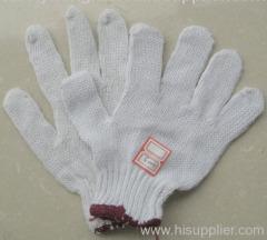 string knitted gloves