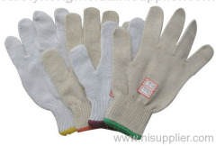 string kniting glove