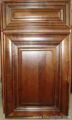 Solid cabinet door