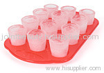 12 ice shot glasses