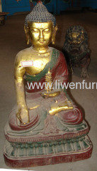 Antique reproduction buddha