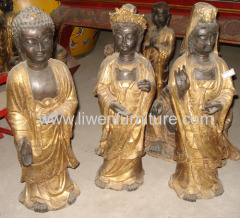 Chinese reproduction copper buddha