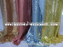 Curtain cloth decoration