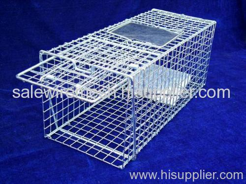 metal wire cage trap