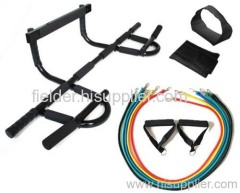 Chin Up Bar+5 Resistance Bands+AB Staps hot as seen on tv