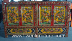 Tibetan style consoles hand drawing