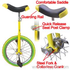 16 Wheel Unicycle