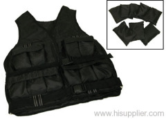 Adjustable Weight Weighted Vest Exercise