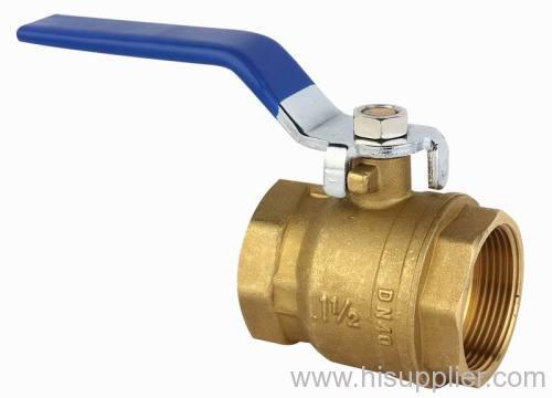 brass full port ball valve