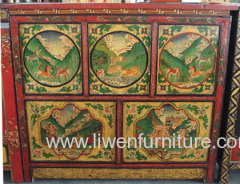 antique reproduction Tibet cabinet