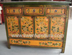 Antiques furniture cabinet