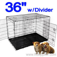 Dog Pet Crate Cage Divider