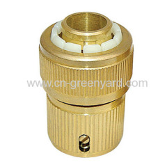 """3/4"""" brass quick connector"""