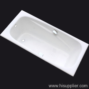 simpel cast iron enameled bath